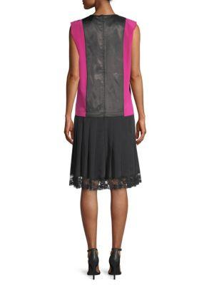 Marc Jacobs Flapper-Style Pleated Skirt Dress
