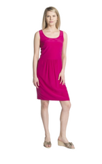 Akris Punto Silk Drop Waist Dress
