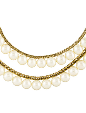 By Malene Birger Pearl Terrial Necklace
