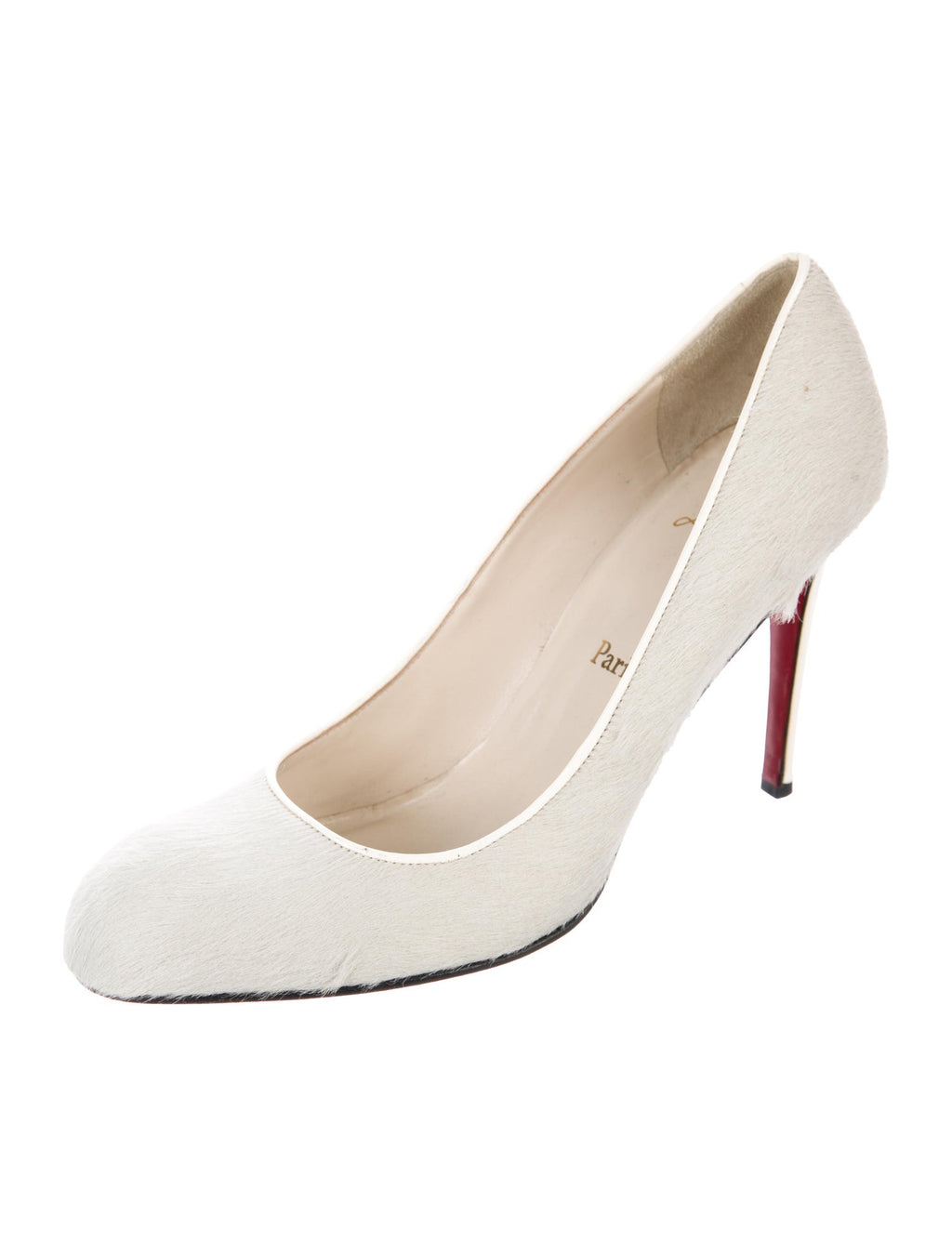 Christian Louboutin Pony-Hair Pumps