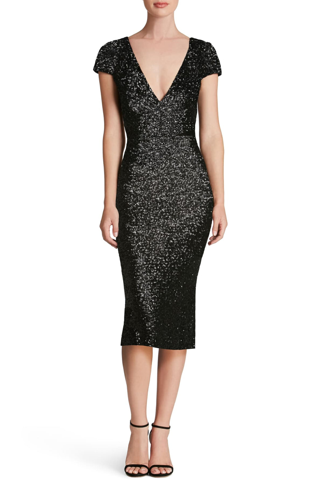 Dress the Population 'Allison' Sequin Sheath