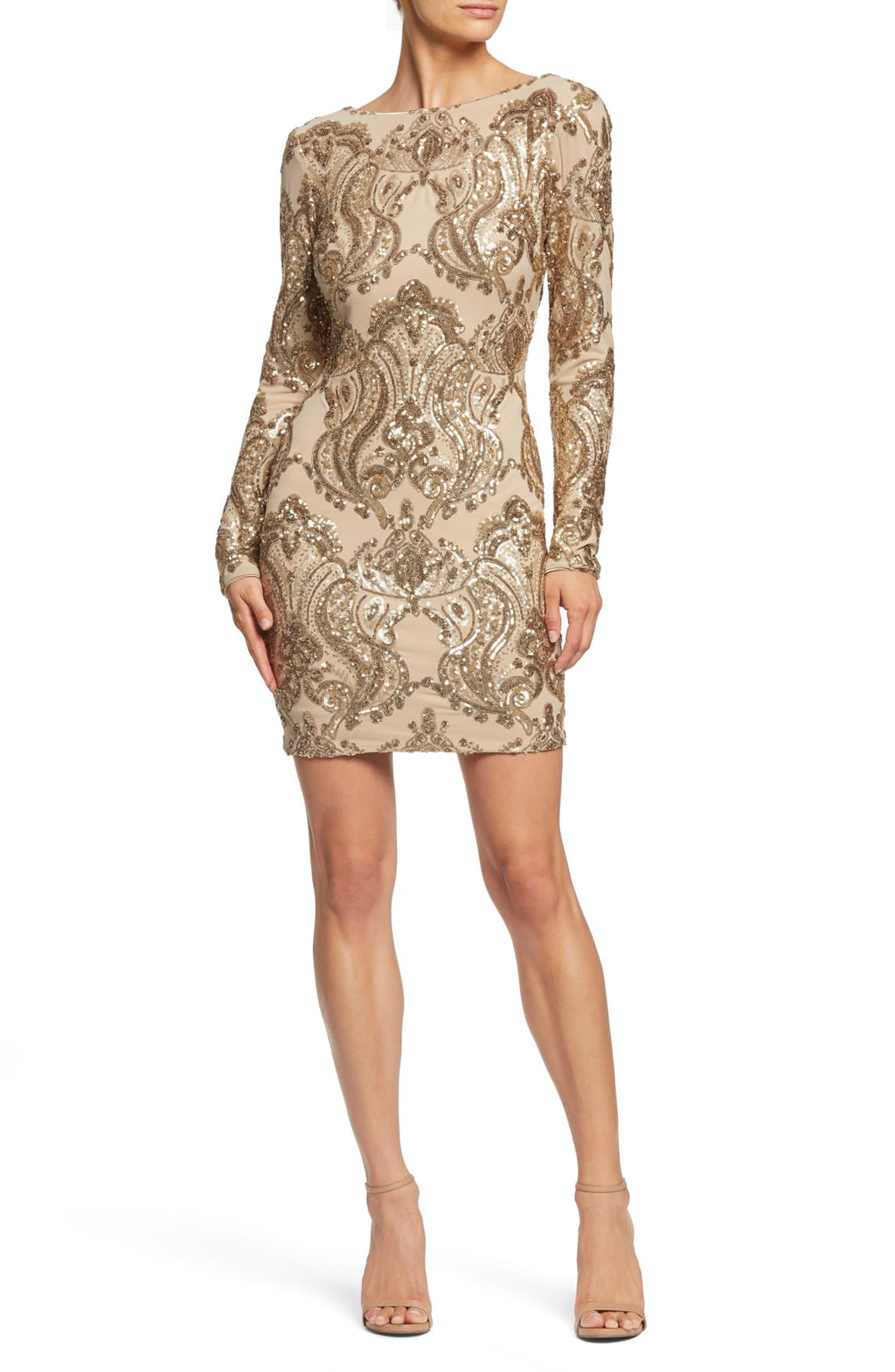 Dress the Population 'Lola' Sequin Body Con