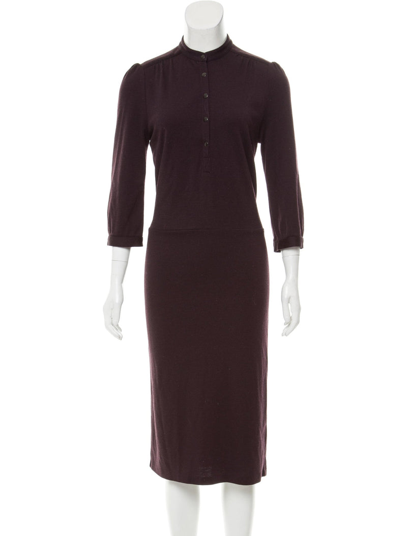 Diane von Furstenberg Vintage Wool Midi Dress
