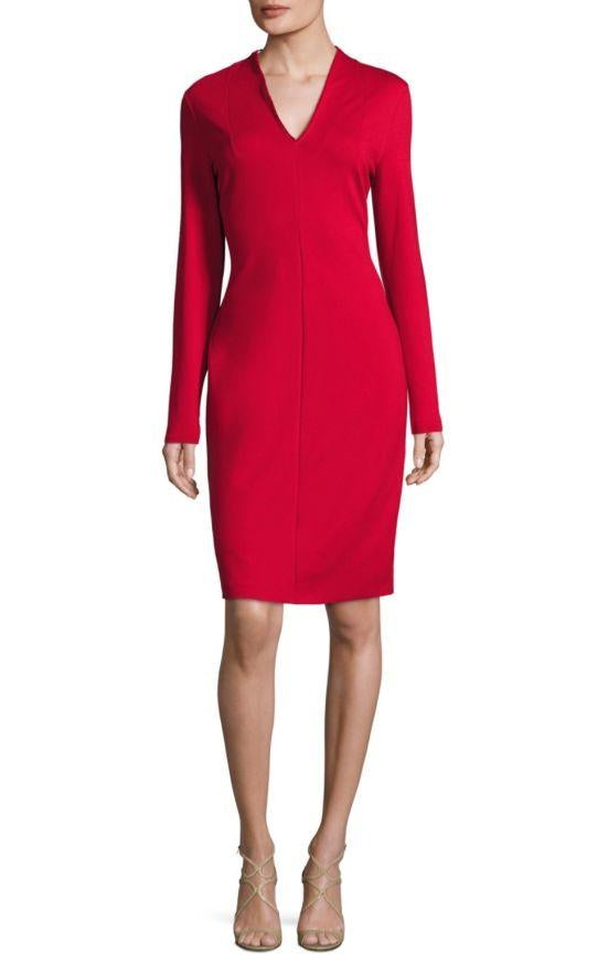 Escada 'Dzanna' Lacquer Dress