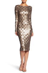 Dress the Population 'Emery' Sequin Midi