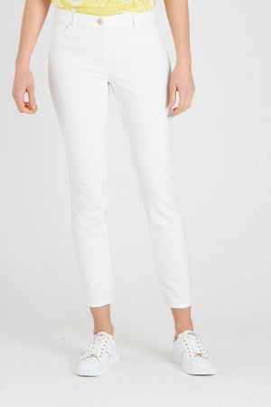 Escada Off-White Tygan Pants