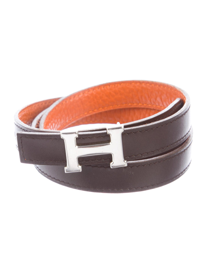 Hermès Reversible 'H' Logo Belt (13mm)