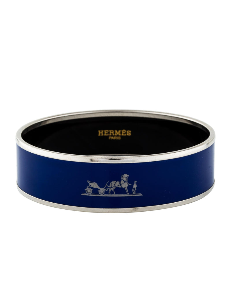 Hermes Caleche Wide Bangle