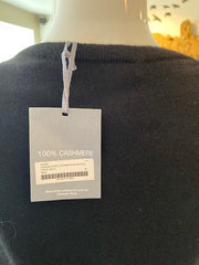 Hannah Rose Black Cashmere Sweater