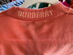 Burberry Merino Wool Logo Sweater