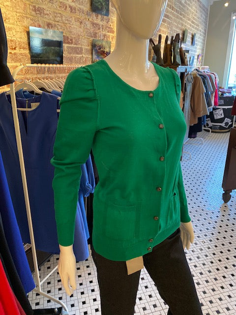 Marc by Marc Jacobs Emerald Knit Cardigan