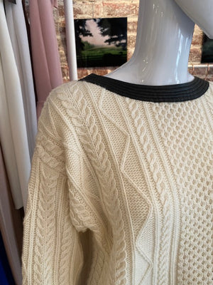 Cut25 by Yigal Azrouel Fisherman Sweater