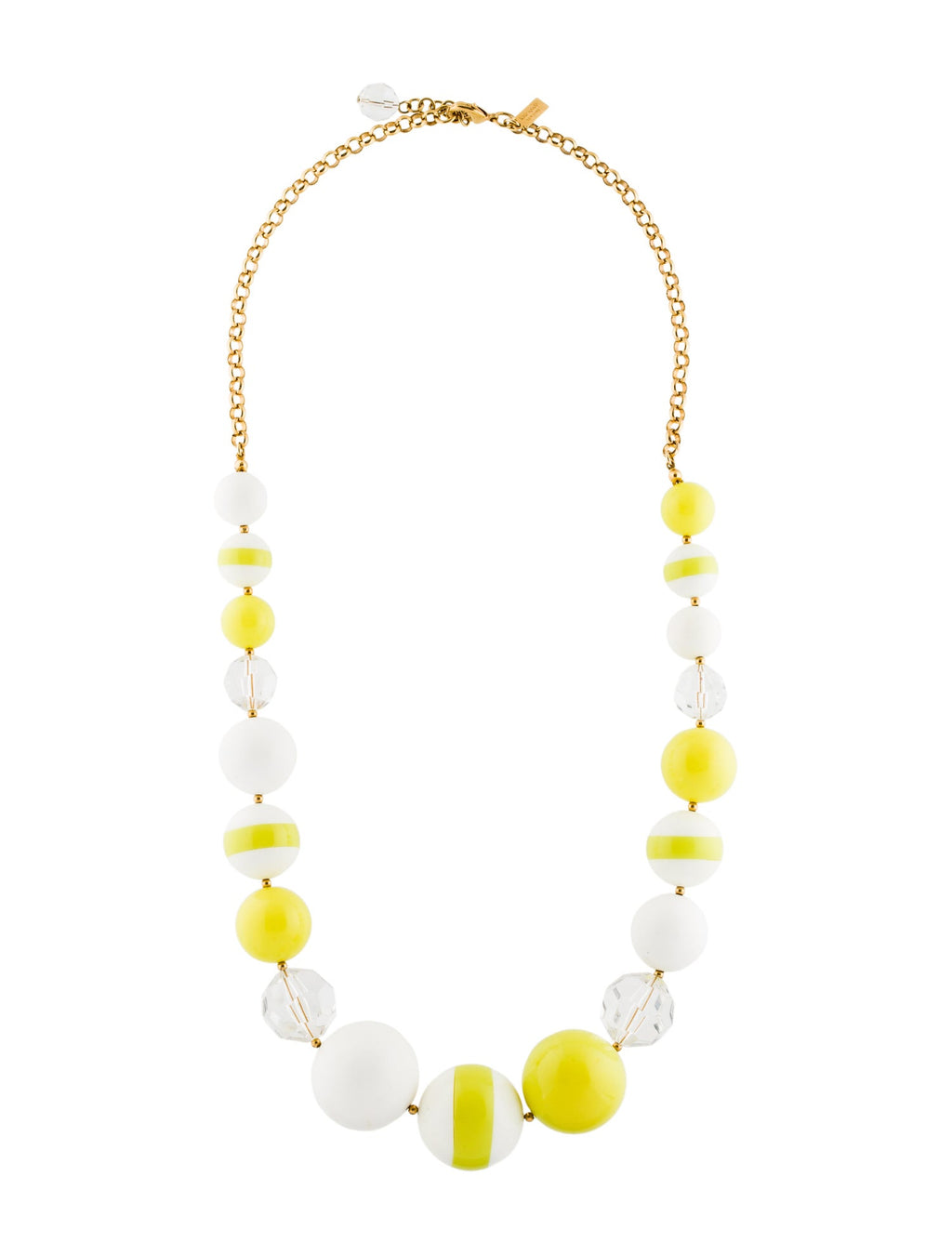 Kate Spade New York Yellow Bead Statement Necklace