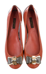 Louis Vuitton Patent Leather Ballet Flats