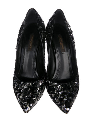 Louis Vuitton Sequin Pumps