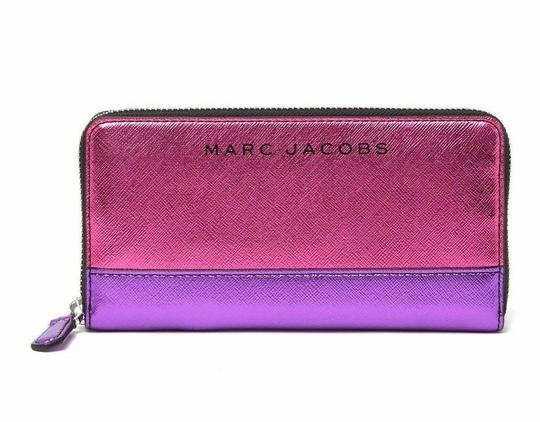 Marc Jacobs Metallic Continental Wallet