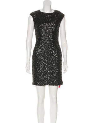 Rachel Zoe Embellished Mini Dress
