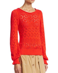 See By Chloe Lightweight Knit Sweater