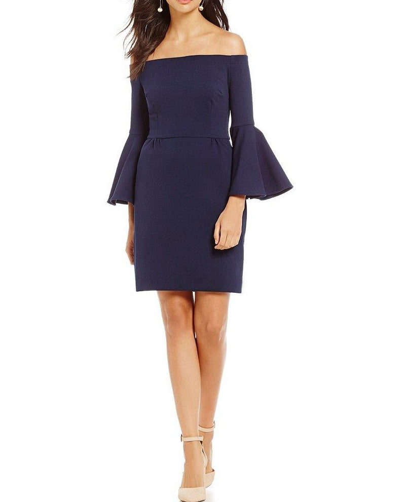 Trina Turk 'Miley' Off-The-Shoulder Sheath Dress