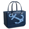 Bogg Bag Limited Edition 'Navy Anchor' Large Tote