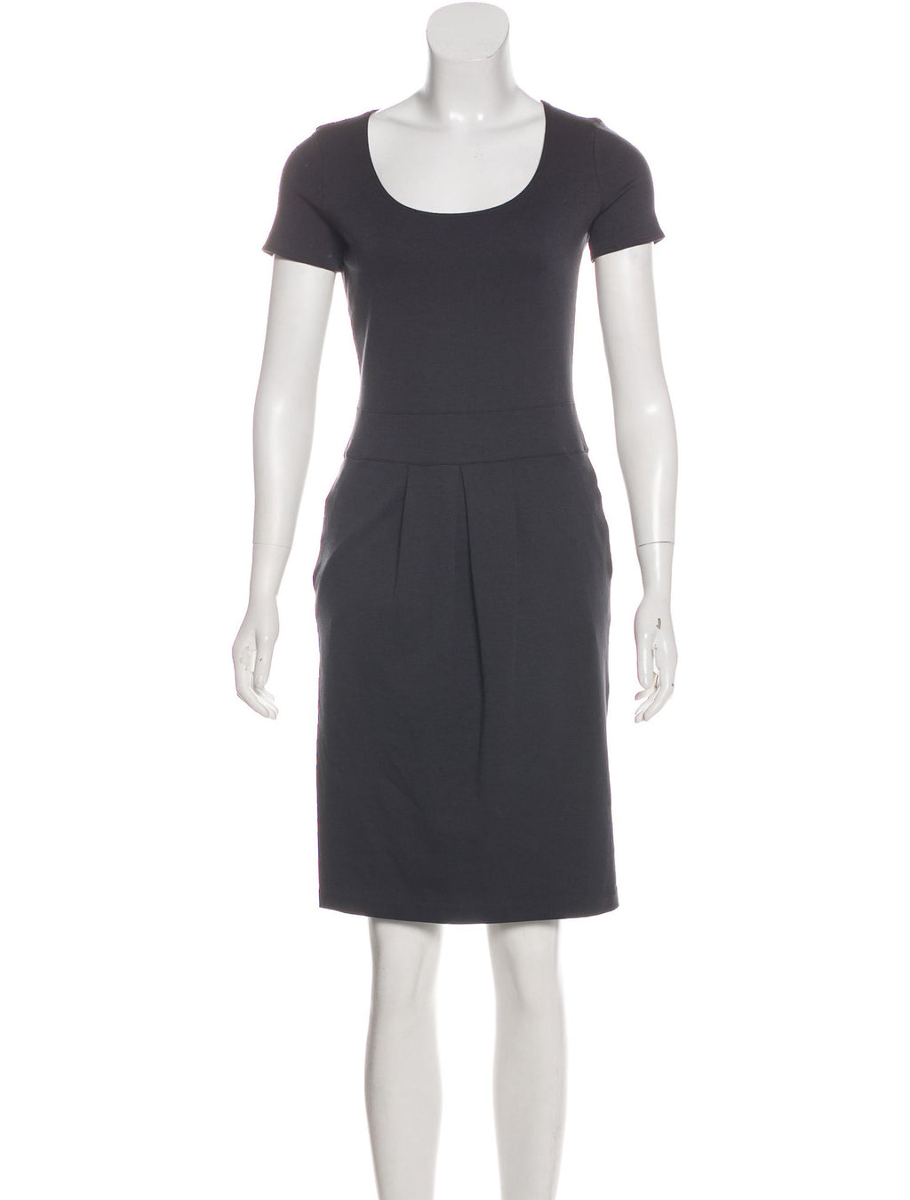 Armani Collezioni Classic Short Sleeve Dress