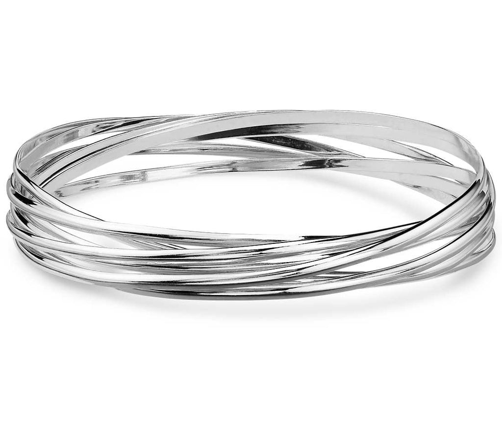 Kim Rogers Interlocking Bangle Bracelets
