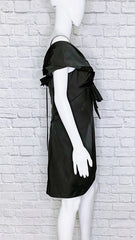 Marc Jacobs Twisted-Knot Black Cocktail Dress