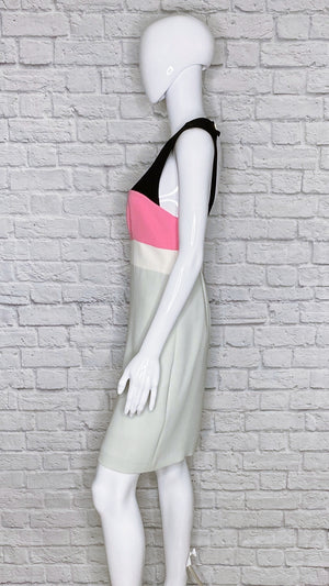 Diane Von Furstenberg 'Tamika' Colorblock Dress