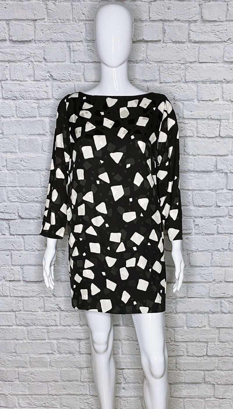 Marc Jacobs Geometric Mini Shift Dress