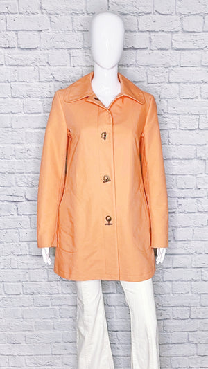 Burberry London Vintage Nova Check Toggle Coat