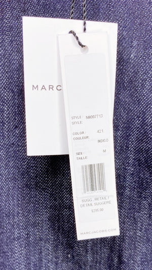 Marc Jacobs Dark-Wash Denim Mini Dress