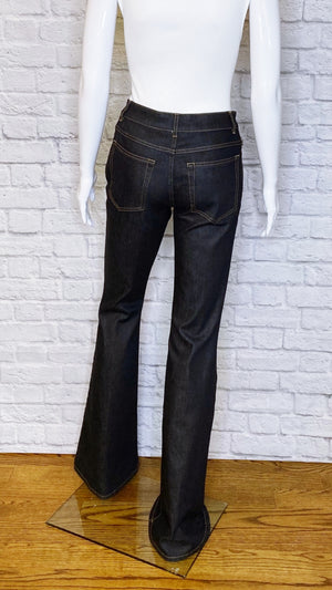 Tom Ford Mid-Rise Classic Flare Indigo Denim
