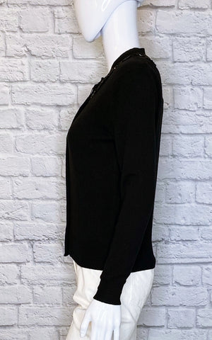 Marc Jacobs Embellished Wool-Cashmere Blend Cardigan