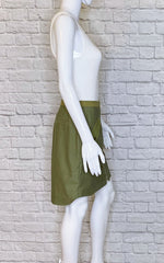 Rag & Bone Army Green Maverick Military Skirt