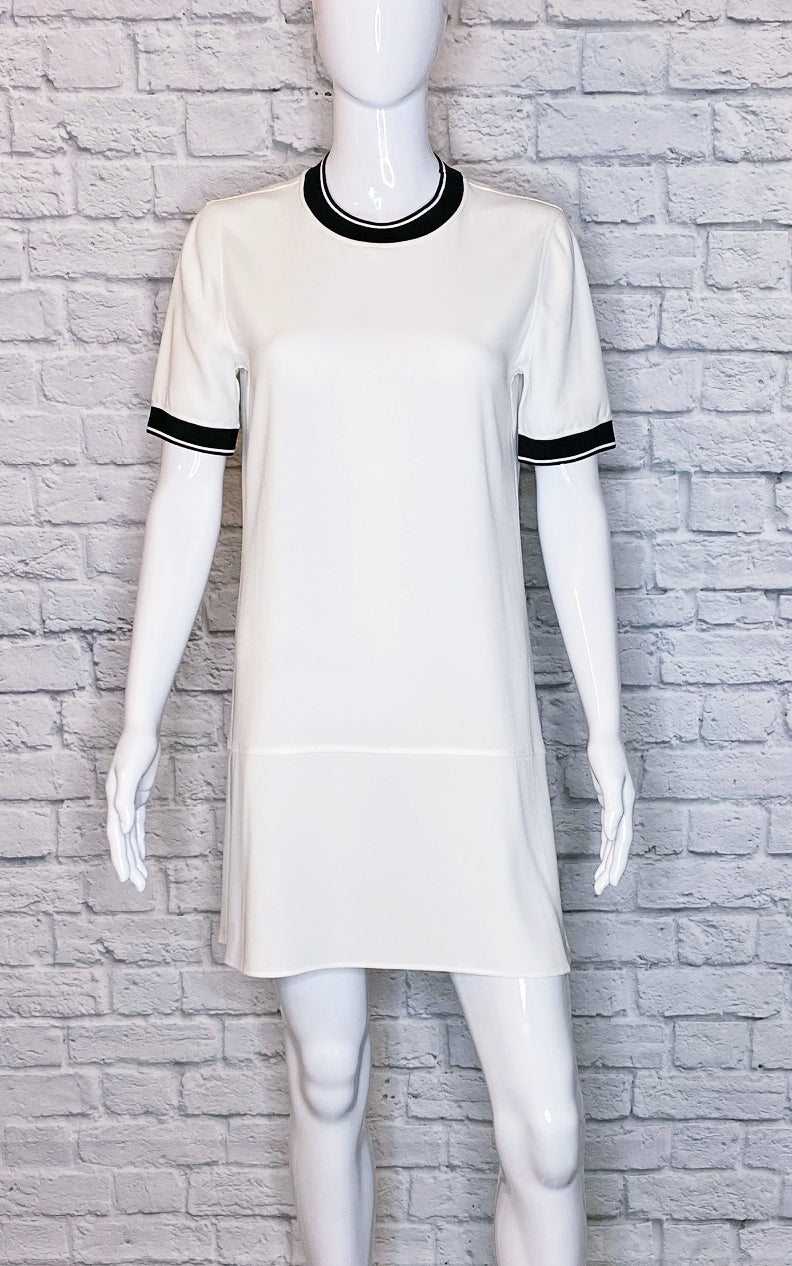 Rag & Bone White Short Sleeve 'Thatch' Dress