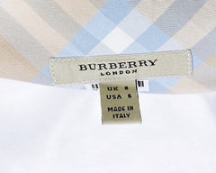 Burberry Signature Nova Check A-line Skirt