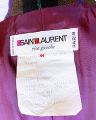 Yves Saint Laurent Vintage 1976 Russian Rive Gauche Wool Peacoat