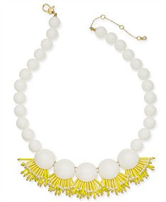 Kate Spade New York Beaded Fringe Necklace