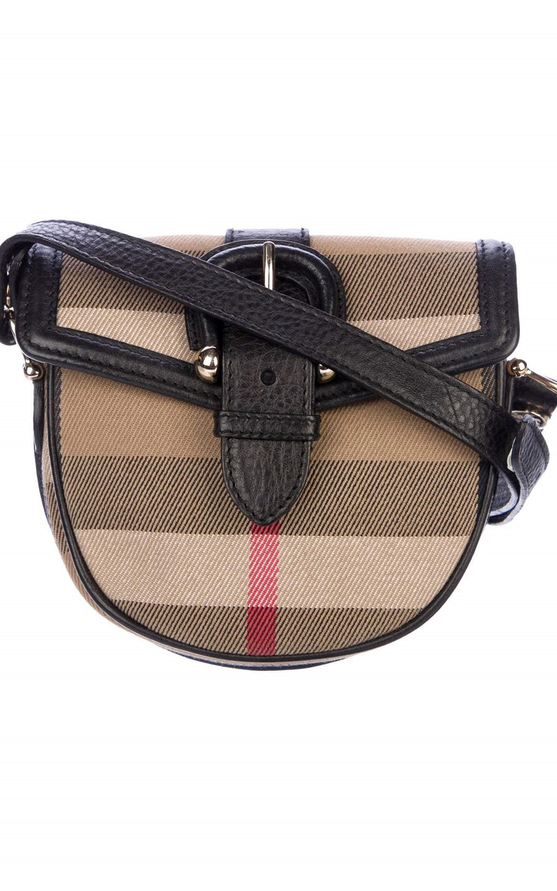 Burberry Vintage House Check Crossbody Bag