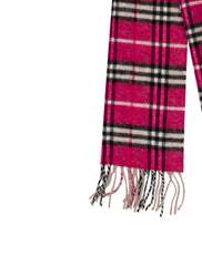 Burberry Signature Nova Check Wool Scarf