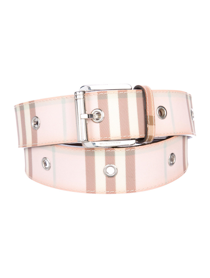 Burberry London Vintage Signature Nova Check Belt