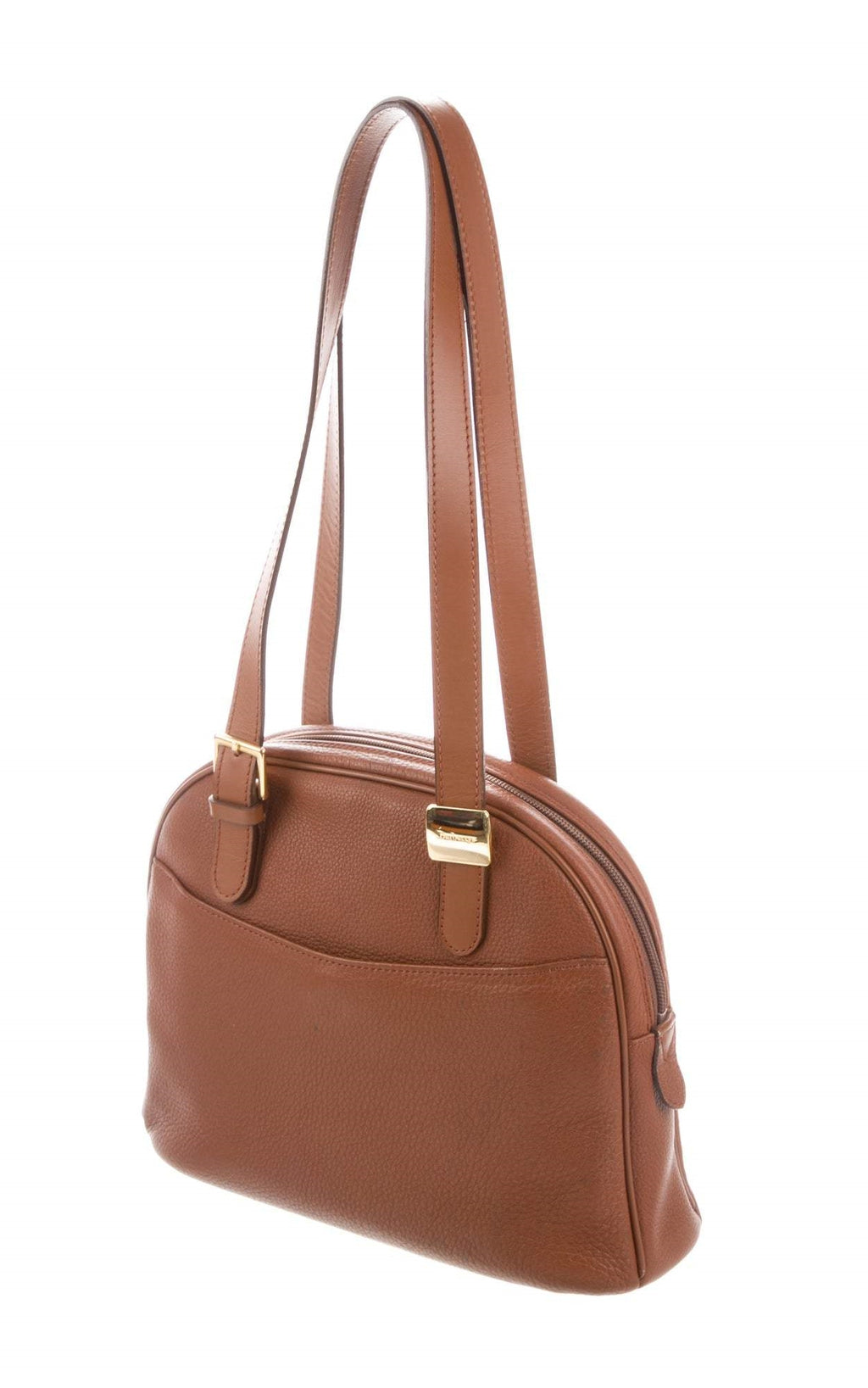 Burberry Vintage Leather Shoulder Bag