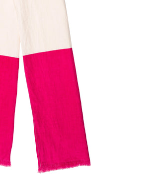 Kate Spade New York Colorblock Linen Scarf