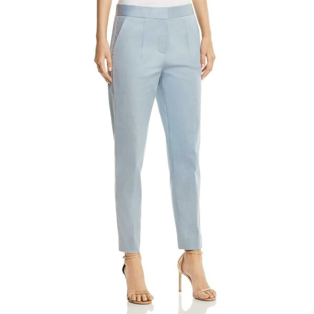 Donna Karan Slim Pleated Trousers