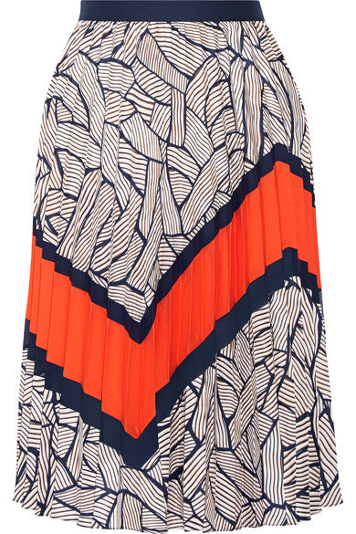 Diane von Furstenberg 'Saphira' Pleated Skirt