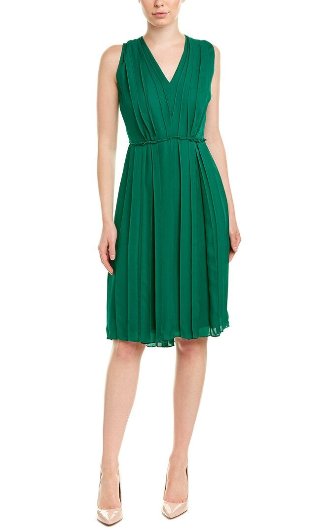 Escada 'Djura' Silk A-Line Dress