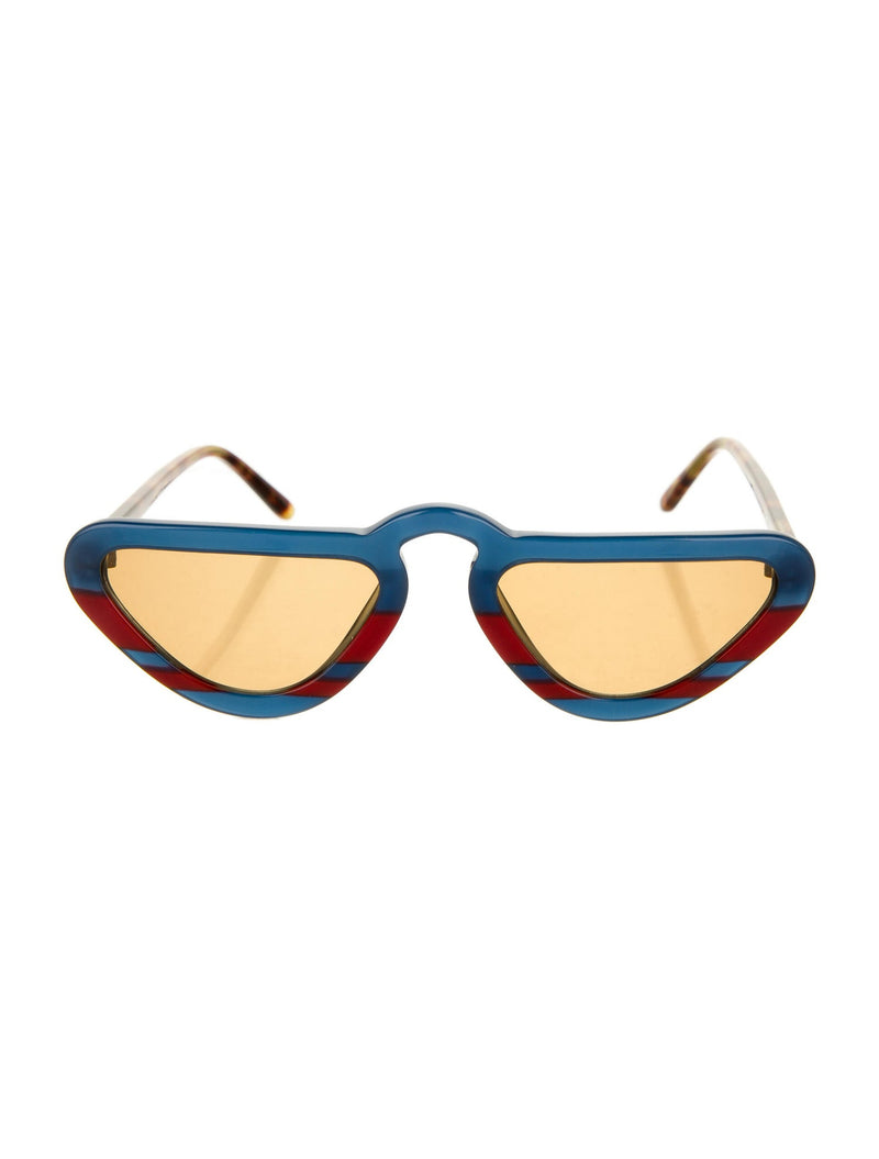 Man Repeller Retro Cat-Eye Sunglasses