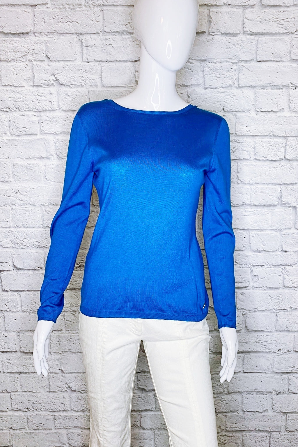 Christian Dior Cashmere-Silk Blend Low Back Sweater
