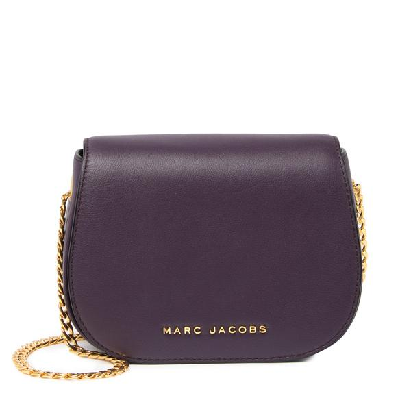 Marc Jacobs Grape 'Avenue' Logo Crossbody Bag