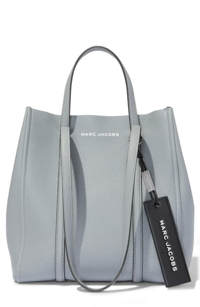 Marc Jacobs 'Tag 27' Rock Gray Pebble Leather Tote